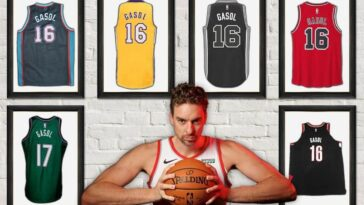 Pau Gasol returns to Barcelona and closes his NBA career: let's relive it