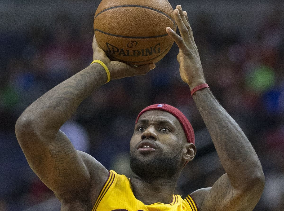 LeBron James still hopes to play with his son in NBA