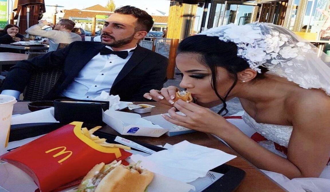 Bride McDonald's