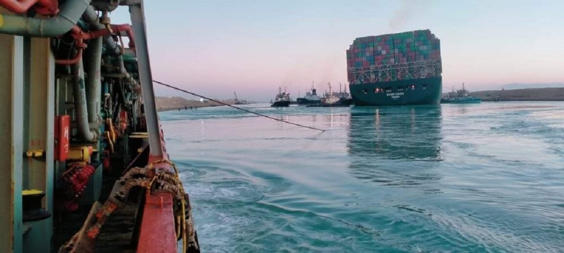 Cargo Ship Blocking The Suez Canal Has Been Freed