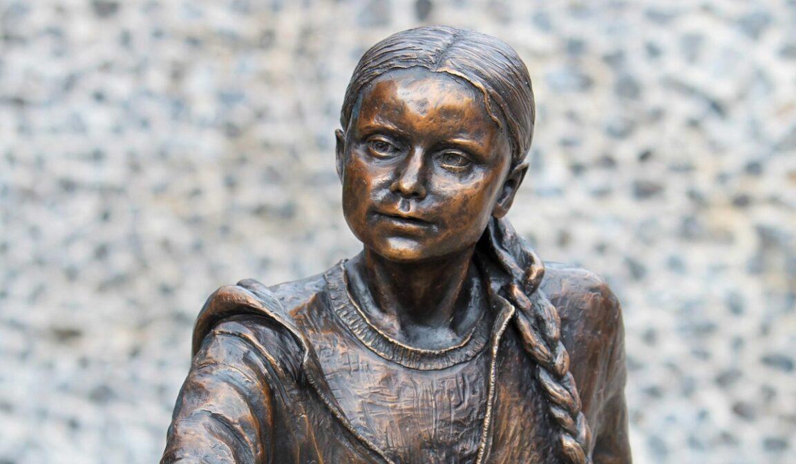 Greta Thunberg's statue