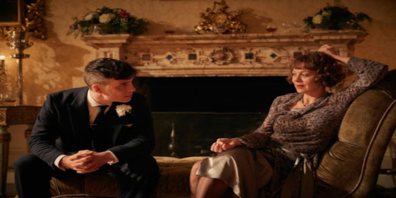 Cillian Murphy pays tribute to his late Peaky Blinders co-star Helen McCrory.