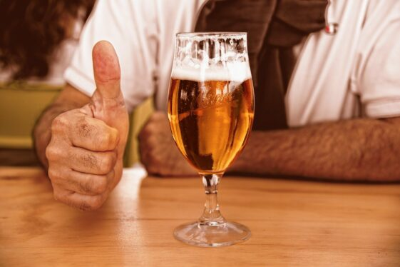 Why it feels like we get more drunk at pubs than at home?