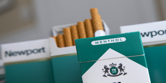 The Food and Drug Administration Initiates the process of banning menthol tobacco cigarettes