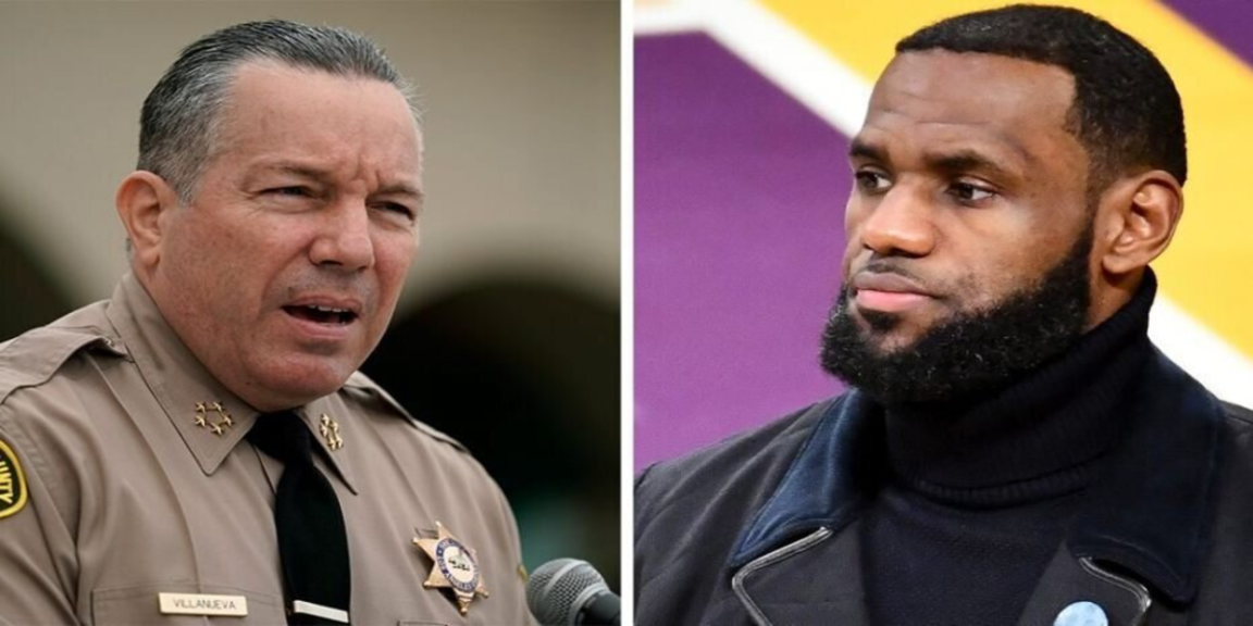 Cop calls LeBron James for policing advice
