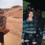 Kourtney Kardashian and Travis Barker get undressed and steamy in the desert