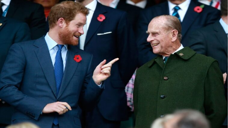 Prince Harry Prince Philip