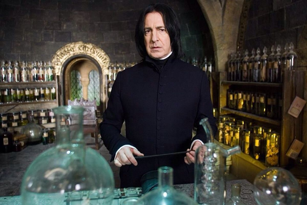 The secret meaning behind Snape's first words to Harry