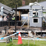 pub's new outdoor space catches fire a day before reopening