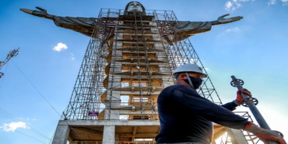Brazil Builds New Statue
