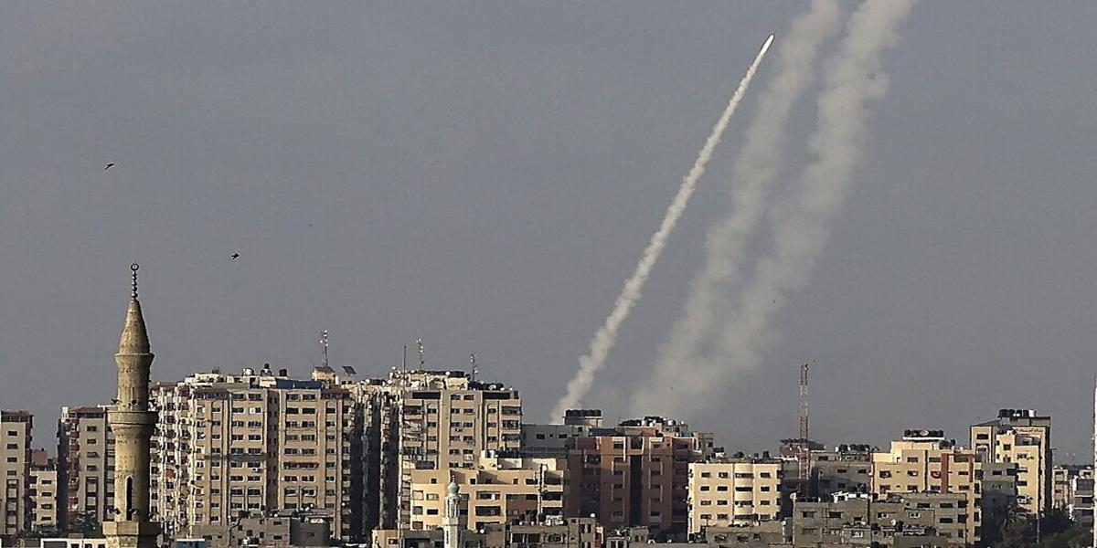 Seven rockets fired at Israel from Gaza, raising alarms