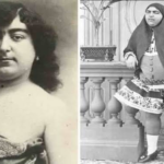 The of Qajair princess who had 145 suitors and 13 of them took their own lives