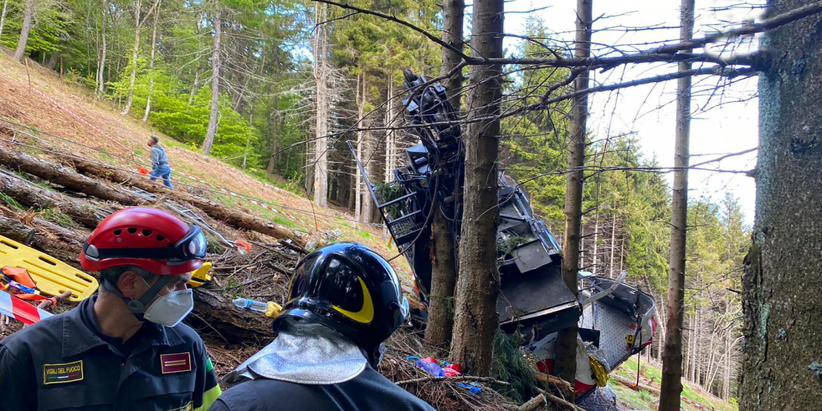 Five-year-old boy is the only survivor of the cable car accident in Italy