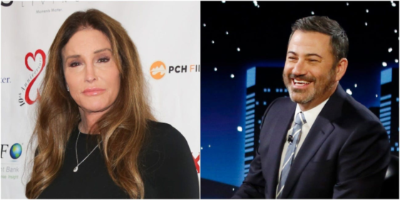 """Jimmy Kimmel criticized and slammed candidate Caitlyn Jenner as """"ignorant"""""""