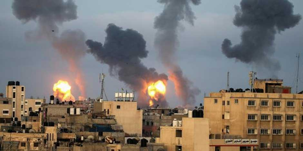 Israel and Hamas agree to cease-fire in Gaza