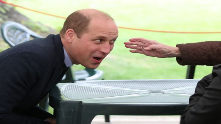 Prince William 'flirts' with 96-year-old woman in Scotland