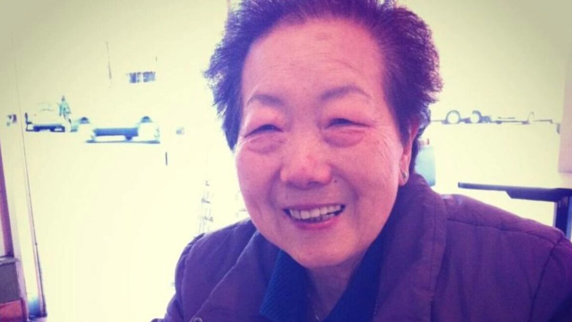 Two elderly Asian American women waiting at a bus stop were stabbed