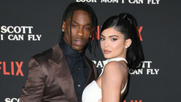 Kylie Jenner looked absolutely flawless in a fitted dress and metallic heels to celebrate her ex, Travis Scottky's 29th birthday. Kylie Jenner celebrates her ex Travis Scott's birthday in Miami