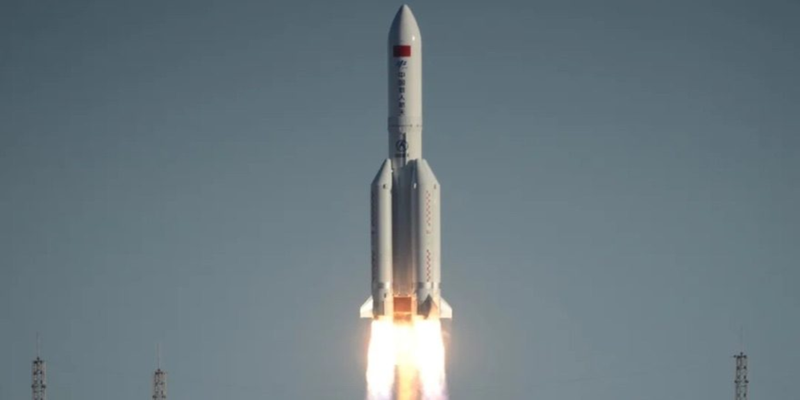 Chinese rocket to make uncontrolled re-entry and debris could fall on populated areas