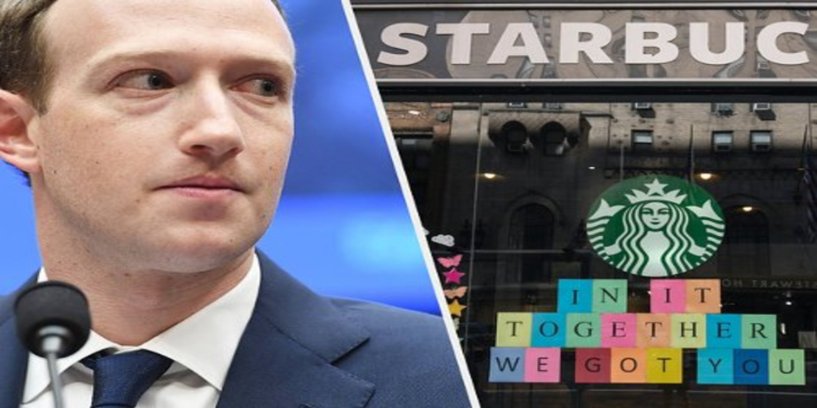 Facebook says hateful comments may drive Starbucks from the social network