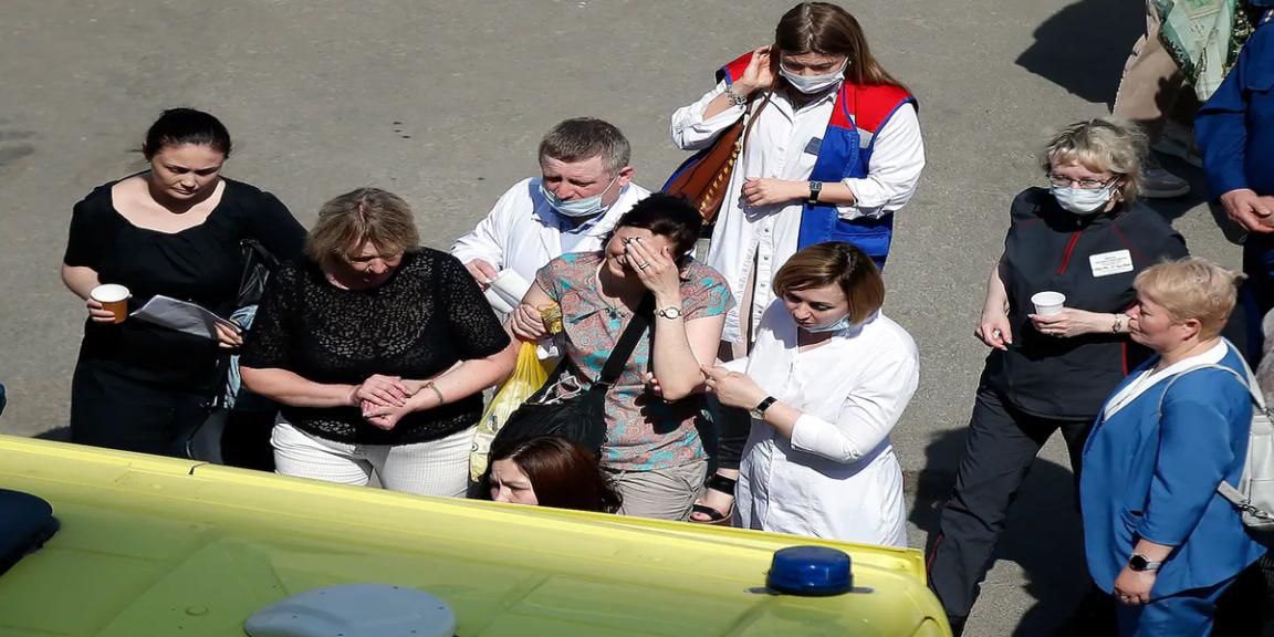 Russian school shooting leaves at least nine students dead