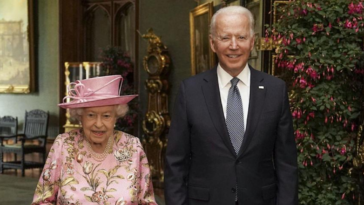 President Biden said Queen Elizabeth II reminded him of his mother