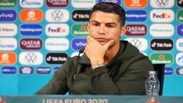 Cristiano Ronaldo refuses a Coke and the company loses 4 billion