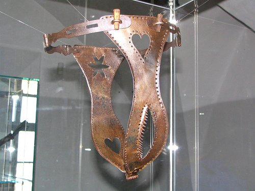 The myth of the iron belt as a method of chastity in the Middle Ages