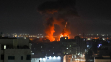 Israel launches airstrikes in Gaza in response to incendiary balloons
