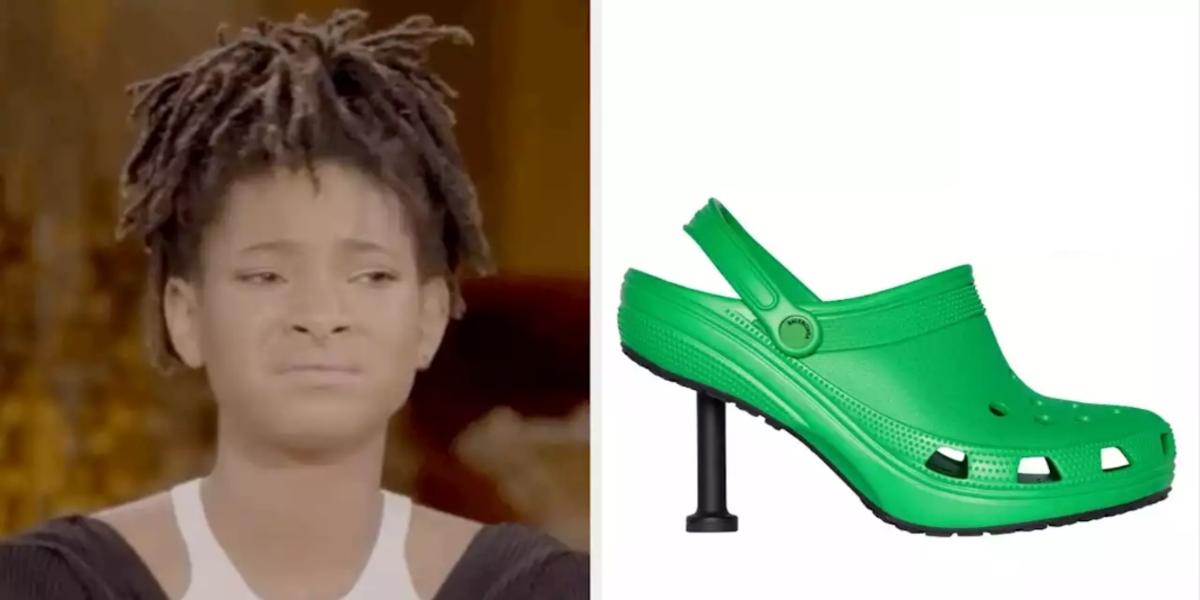 Crocs and Balenciaga team up to create a shoe with heels