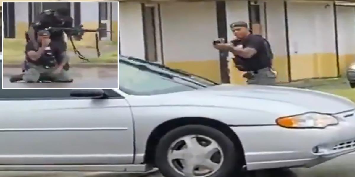 Officer breaks down in tears after killing 19-year-old woman