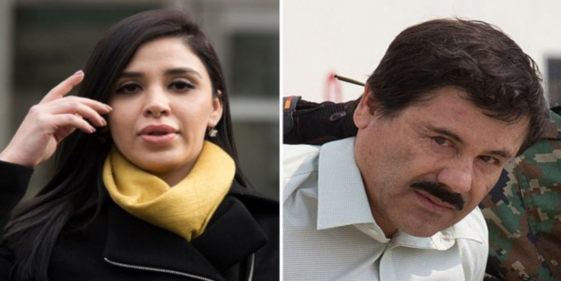 """Wife of Mexican drug trafficker """"El Chapo"""" pleads guilty to US charges"""