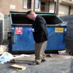 Newborn baby found abandoned in bathroom dumpster at park