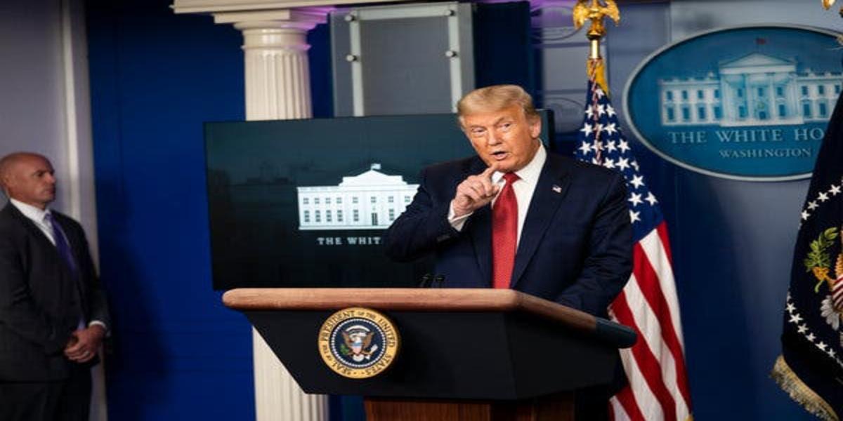 Donald Trump gives himself credits that thanks to him Kamala Harris visits the border