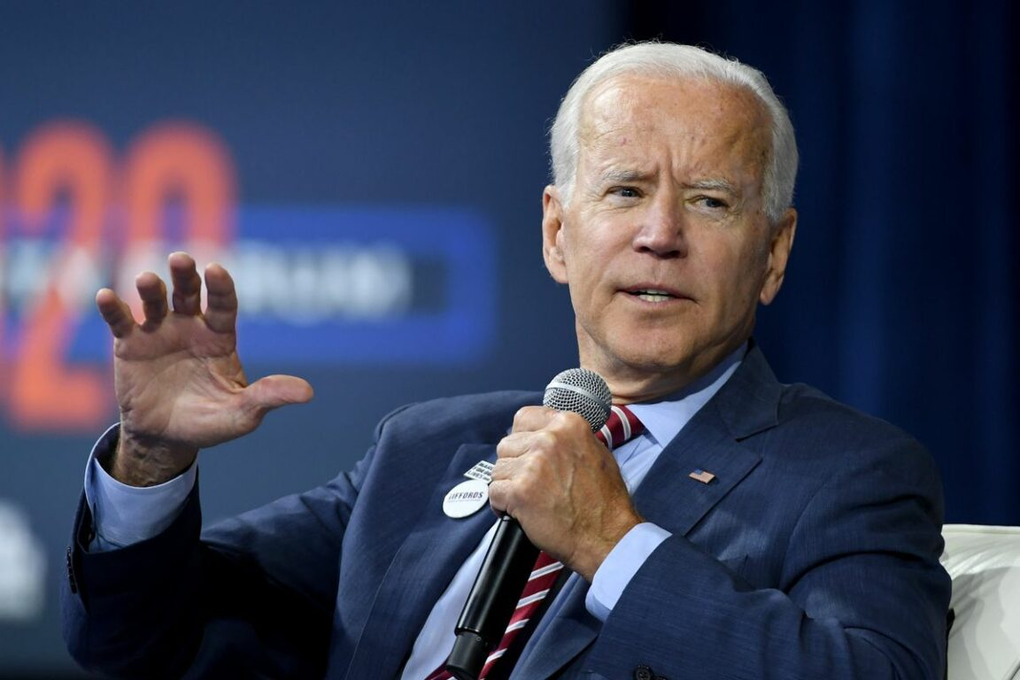President Joe Biden indicated Wednesday evening that he is pushing to eliminate firearms sales