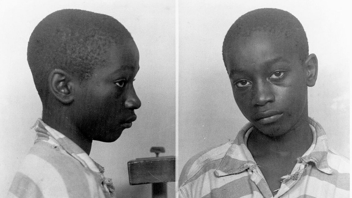 George Stinney Jr, 14, was electrocuted in 1944 for murdering two white girls and exonerated 70 years later