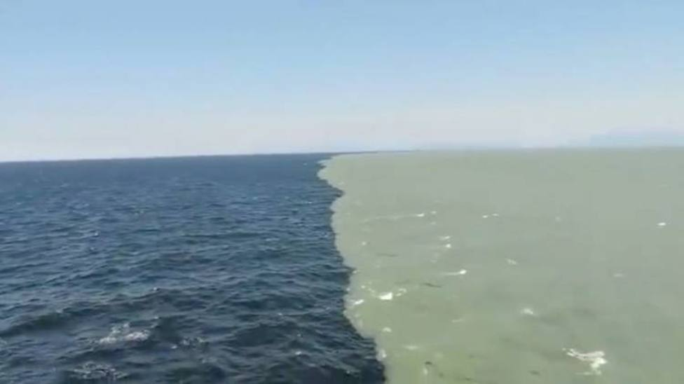 Why do the two great oceans of the Earth never mix?