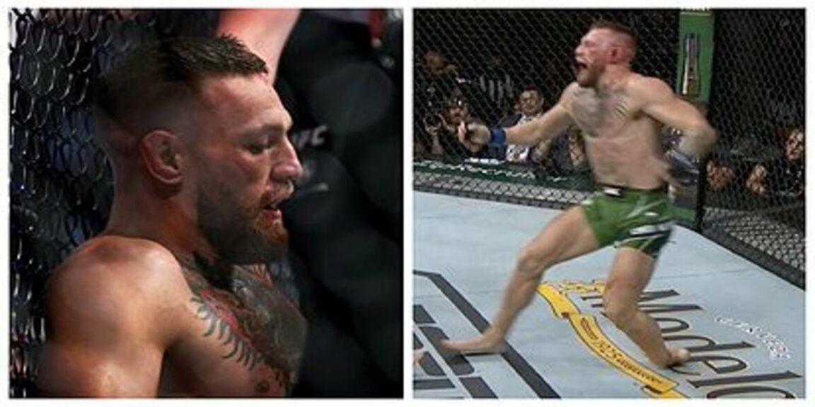 Conor McGregor breaks ankle against Dustin Poirier at UFC 264