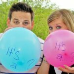 Pink or blue balloons to reveal child's sex but the unthinkable happens