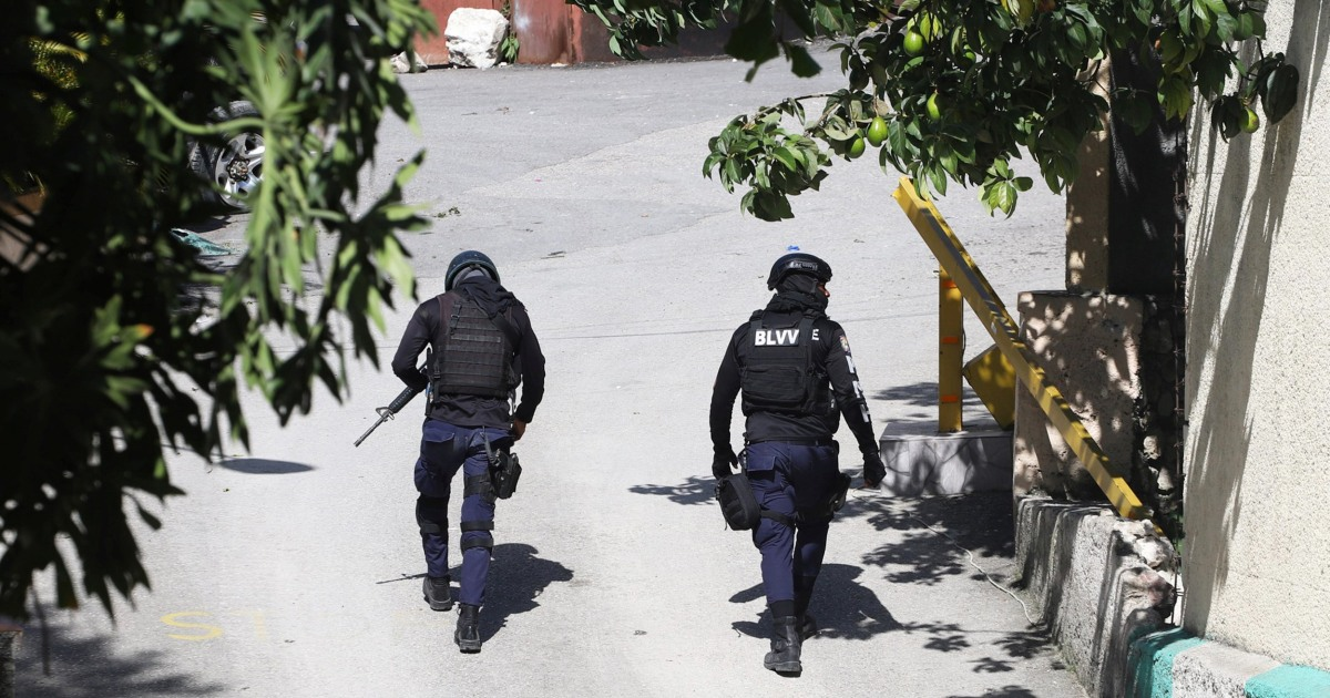 Four suspects in assassination of Haitian president killed, 2 arrested