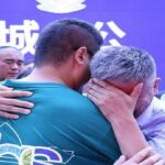 Father reunited with kidnapped son after 24-year search