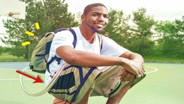 This young man lived for a year and a half with his heart in a backpack