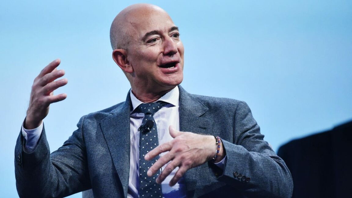Billionaire Jeff Bezos launches into space, soars 66.5 miles high
