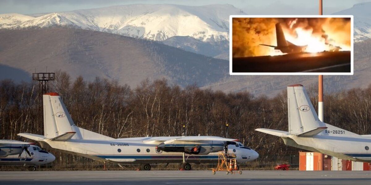Russian airliner crashes with 28 people on board