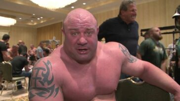 The day Scott Mendelson tore a pectoral muscle in the bench press