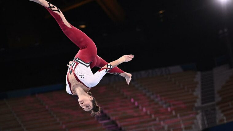 """German Olympic gymnasts wear full-body uniforms in rejection of the """"sexualization"""" of the sport"""