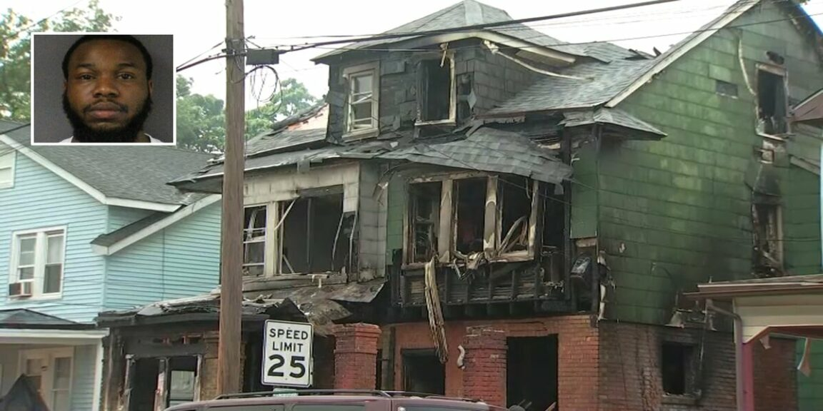 A father killed his 9-month-old daughter and her grandparents in a fire he set himself