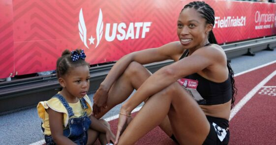 Allyson Felix, the most complete sprinter in Olympic track and field history