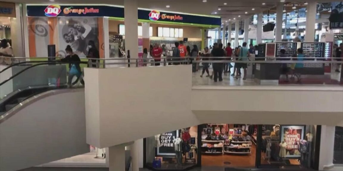 2-year-old boy dies after falling from father's arms on escalator