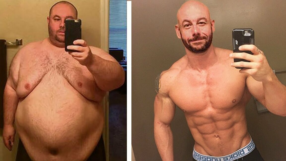 Drastic diet: from overweight to bodybuilder in a short time